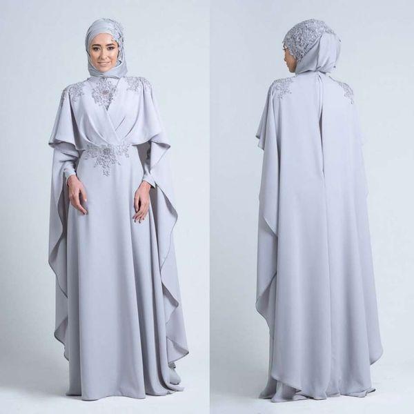 foulard robe de soiree