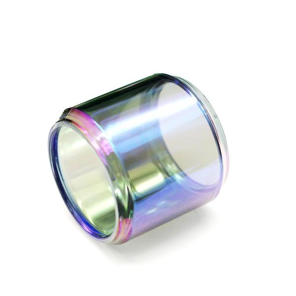 Substituição do tanque de vidro da bolha do Arco-íris tubo para Horizontech Falcon tanque de gordura bot vapor de vidro ecig atomizador tanque preço de fábrica