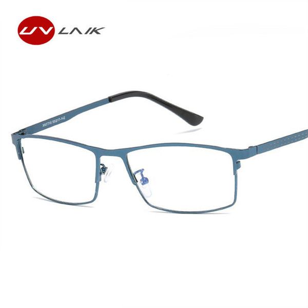best selling UVLAIK Mens Optical Eyeglasses Frames Blue Light Filter Lens Goggles Gaming Computer Glasses Classic Bussiness Eyewear Frames
