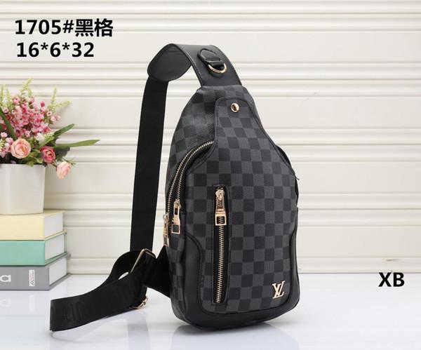 2018 Brand Designer Men Genuine Leather Handbag Black Briefcase Laptop Shoulder Bag Messenger Bag Male desginer handbags wallets with tag 05