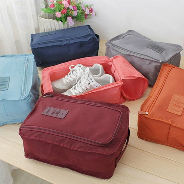 flowers and young liu tao han edition travel bag portable multifunctional footwear receive bag can be customized logo