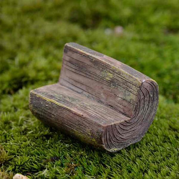 Cool 2019 Wooden Stool Park Chair Craft Moss Micro Landscape Succulents Ornaments Ecological Bottle Decor Diy Materials Fairy Garden Desktop Zakka From Pabps2019 Chair Design Images Pabps2019Com