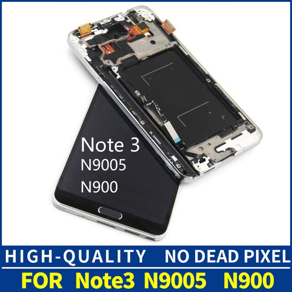 2019 TFT N9005 LCD For Samsung Galaxy NOTE 3 Note3 N9005 LCD Display Touch  Screen With Digitizer Bezel Frame Assembly Replacement From Panyuguan,