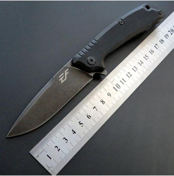 Nouvelle arrivée EF223 D2 lame G10 Tactical Chasse Couteau Multi Outils Poche Survie cadeau couteau 1 pcs