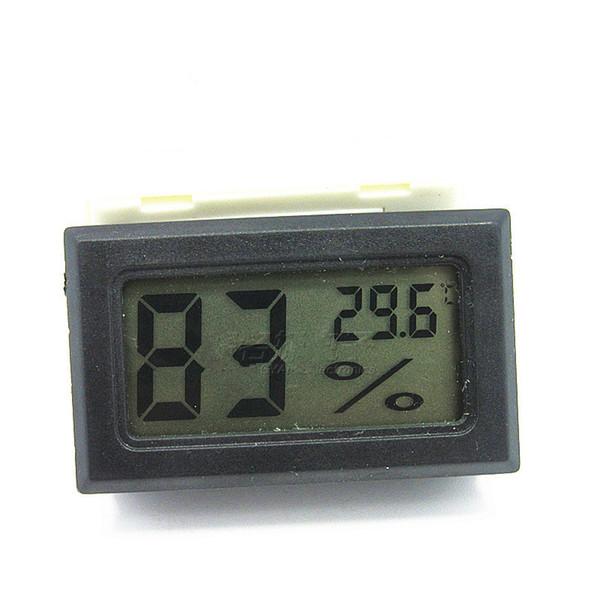 Digital Thermometer Hygrometer Moisture meter Temperature Humidity Meter Fridge Freezer -50-70C 10%RH~99%RH