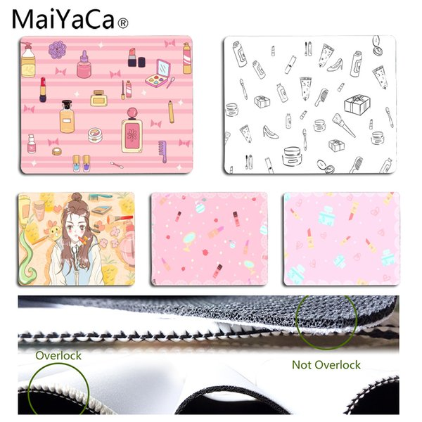 MaiYaCa Einfaches Design Kosmetik Büro Mäuse Gamer Soft Mouse Pad Größe für 180 * 220 * 2mm und 250 * 290 * 2mm Mousepad