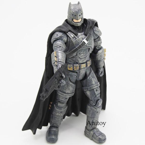 giocattolo modello Batman Superman V Alba giustizia blindata Batman PVC Action Figure da collezione giocattolo modello di per ragazzi Giocattoli per i bambini