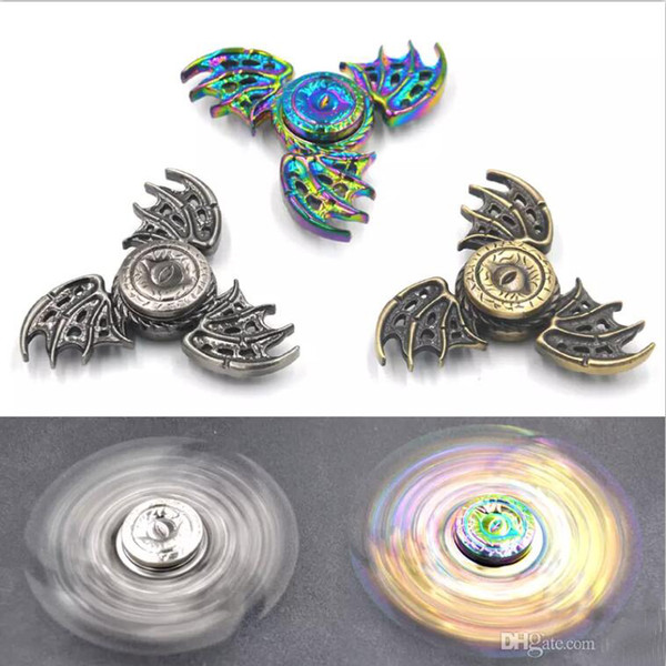 top popular Game of Thrones Fidget Spinner Dragon Eyes Metal Hand Spinner Finger Spinner Anti Stress Tri Spiner Toys for Autism and ADHD 2020