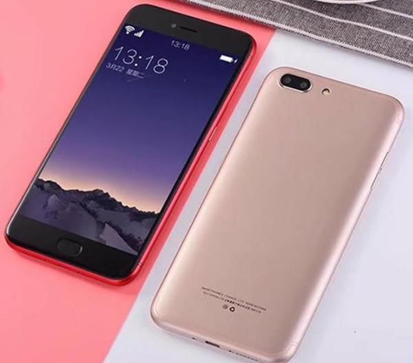 Low-cost new domestic mobile phone, R11 appearance 5.5-inch screen fingerprint unlock, full Netcom smartphone