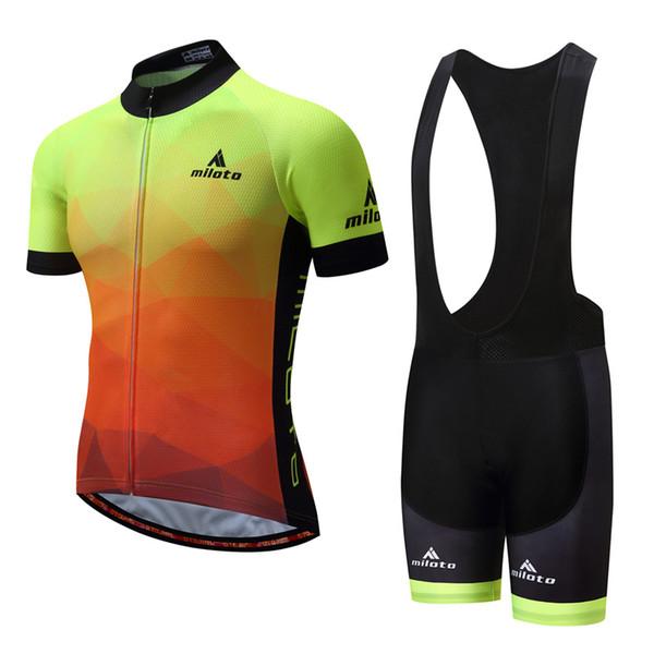 02 Cycling Jersey Bib Sets