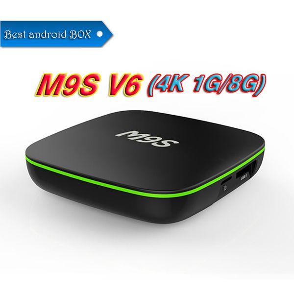 Factory Sale M9S V6 New MXQ Pro 4K Smart Android 7.1 TV Box Rockchip RK3229 Quad Core Google Set Top Box Media Player by DHL