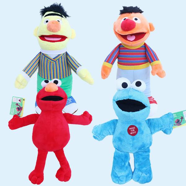 Sesame Street Elmo Doll Puppet Plush Toy Kids Christmas Gift Home Decoration Toys Gift Novelty Items 20cm 30cm 40cm Gga1109 Cheap Joke Gifts Cheap