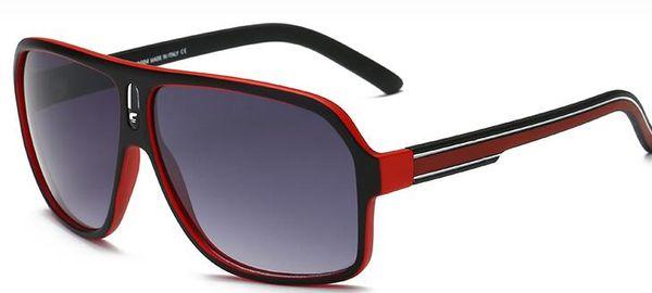 High quality Brand Designer C-18 Sunglasses Fashion Men Women UV Protection Retro Eyewear Sport Vintage Sun glasses With case