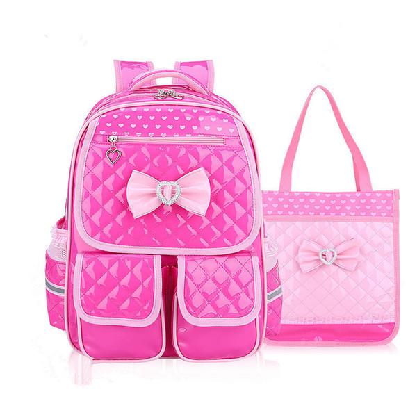 waterproof Kids School Bags Children school Backpack set Girls Orthopedic Backpack Schoolbags Kids Backpack Mochila Infantil Zip Y18100805