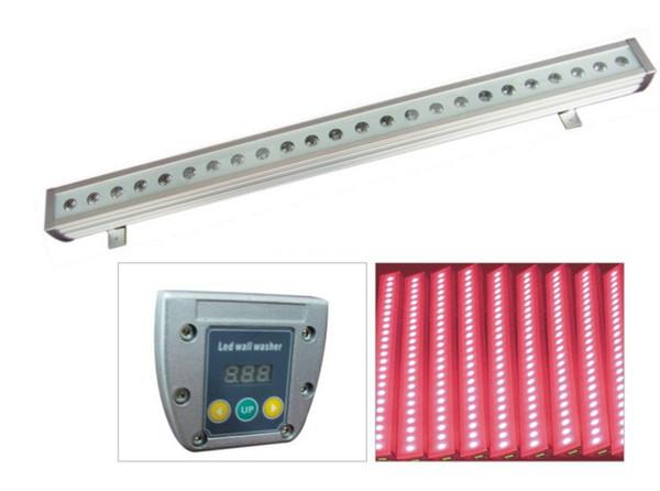 4 pezzi progetto led per esterni ip65 dmx dimming 36x3w rgb cina led wall washer luce impermeabile led wallwasher rgb