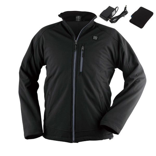 Winter Thermal Heated Jacket Outdoor Sport Men Women Heating Jacket Waterproof Windproof Coat for Hiking Hunting Camping