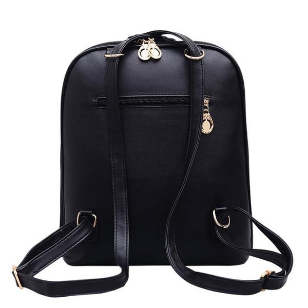 9da920556db Free Shipping 2018 Hot New Arrival Fashion Women School Bags Hot Punk Style  Men Backpack Designer