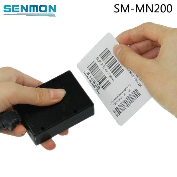 Scanner portatile con codice a barre Mini Mini Pocket Laser Handy USB 1D Barcode Scanner Module Handheld Wired Barcode Reader Engine