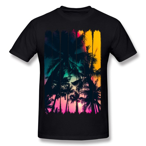 Best Choice Mens Cotton Fabric Summer Feelings T Shirts Mens Round Neck Black Short Sleeve T Shirt S-6XL Printed On T Shirts