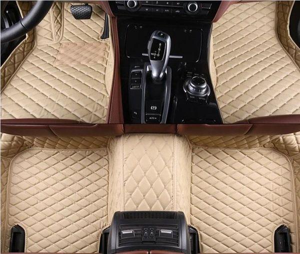 Esteiras do assoalho do carro de alta qualidade para BMW série 3 E46 E90 E91 E92 E93 F30 F31 GT F3 GT 3D F3 3D car styling tapetes tapetes tapetes forros