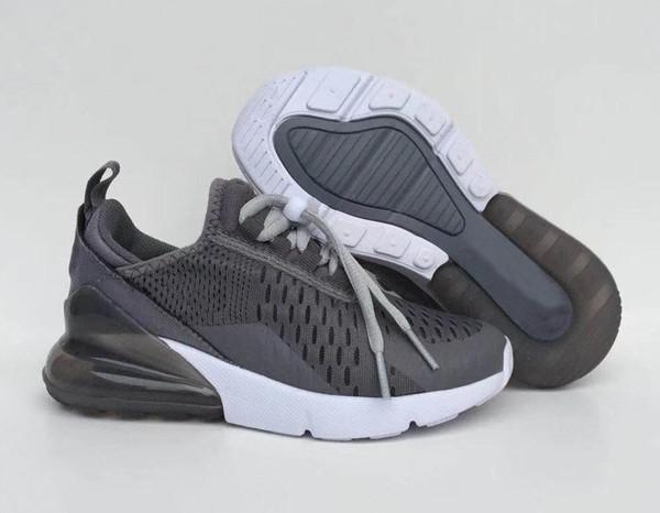Nike air max 270 27c Infantil 270 niños corriendo zapatos bebé tigre negro  blanco polvoriento cactus 27c niño exterior niño atlético niña zapatillas de  ... deeea576ac2ea