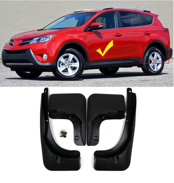 Car Mud Flaps Splash Guard Fender Mudguard for Toyota RAV4 2013 2014 2015
