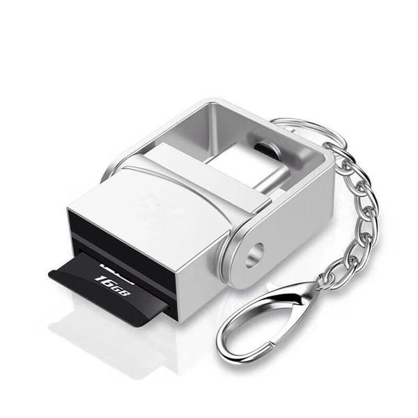 USB 3.1 Tipo C Adaptador de lector de tarjetas USB-C a TF para teléfono celular Macbook Samsung Huawei Xiaomi