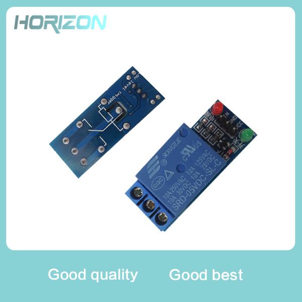 5 V Low Level Trigger One 1 Kanal Relaismodul DC AC 220 V Schnittstelle Relaiskarte Schild Led-anzeige für Arduino Kostenloser Versand