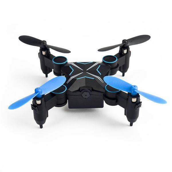 Mini 901HS RC Drone con fotocamera da 0,3 MP Hold Altitude 6-Axis 2.4GHz Gyro Quadcopter Wifi FPV pieghevole elicottero di telecomando Giocattoli