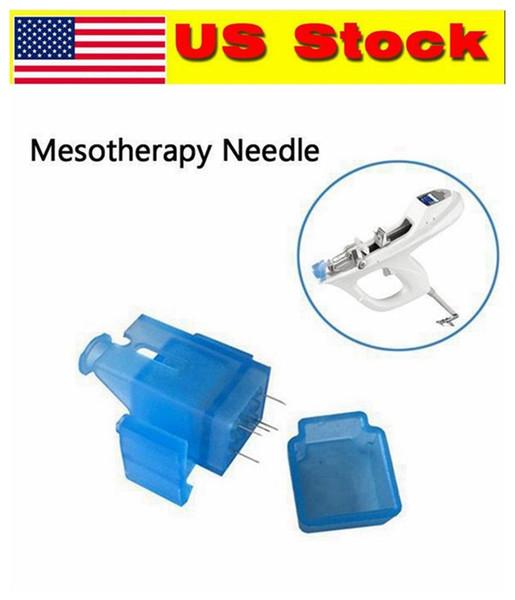 Stock USA! 5/9 Ago Mesoterapia Pistola Ago Fiale Iniettore Siringa Nutrizione Ago Automazione Domestica Anti Rughe Pigmento Invecchiamento