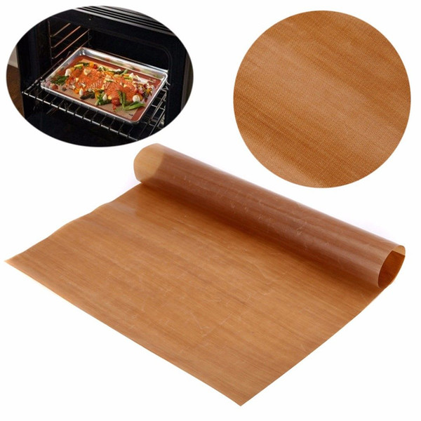 Papier de cuisson réutilisable non-bâton de bâton de four à micro-ondes de four de téflon de haute résistance 40 x 30 cm