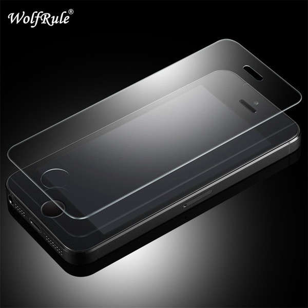 2PCS Screen Protector Tempered Glass For Apple iphone 5S Glass 5s 5C 5 SE Phone Film For iphone 5S