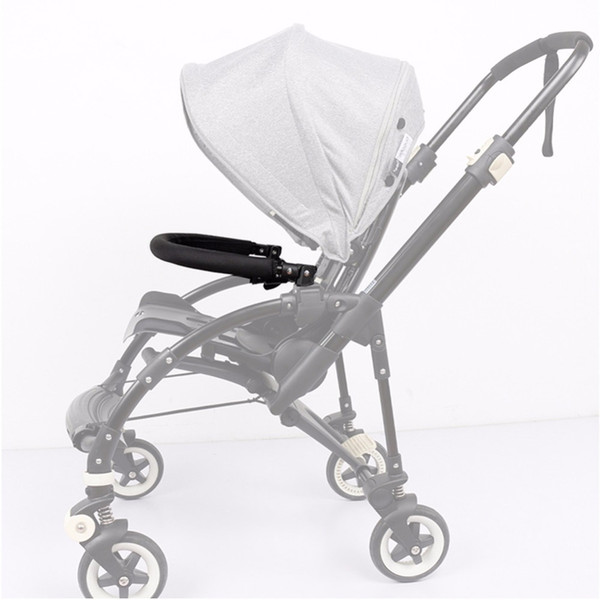 best selling Baby Stroller Accessories Trolley Armrests Bumper Bar Handlebar With PU Leather Oxford Fabric Cover For Bee3 Bee 3 Parts