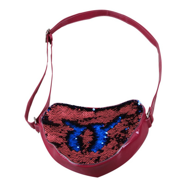 Borse in pelle per bambini in madreperla Borse in pelle per borse con cerniera Satchel Bag New