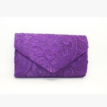 purple day clutch