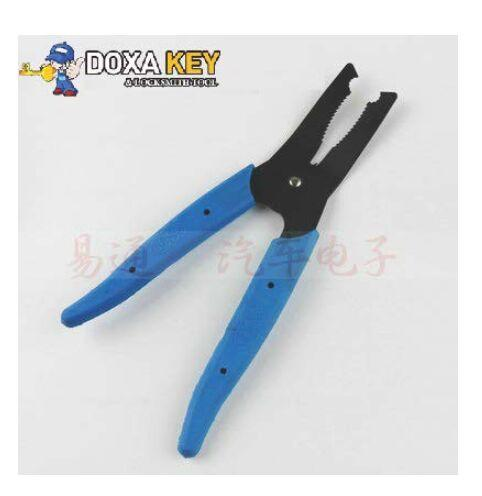 100% Original GOSO Locksmith supplies GOSO removal pliers blue handle tool removed Panel or screws Free shipping