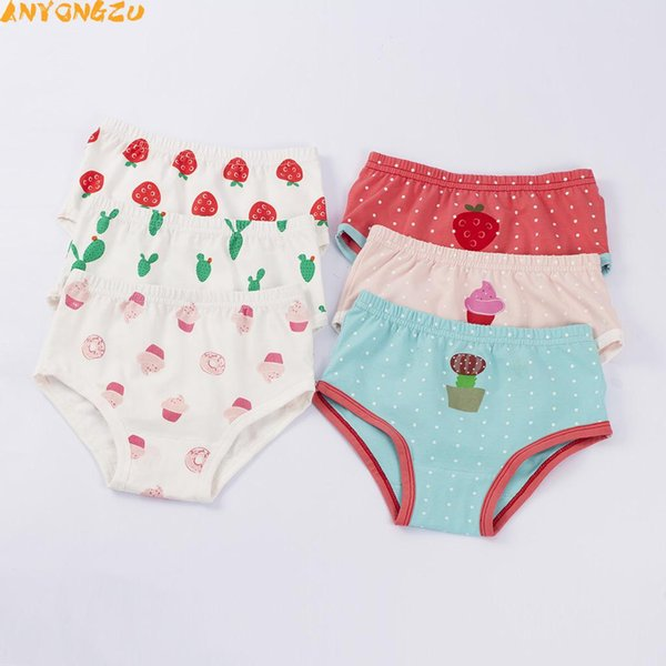 3pc/lot cute cartoon cotton Baby Diapers/Children Cloth Diaper/girl dot Reusable Nappies/Adjustable Diaper Cover/Washable