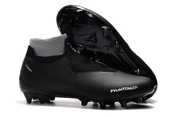 Original 2018 mens soccer cleats Phantom Vision Elite DF FG outdoor soccer shoes x EA Sports Phantom Vision football boots scarpe calcio