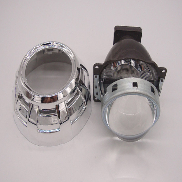 HID Bi-xenon Projector Lens 3.0 Inch Q5 Headlight Xenon Kit White 6000k Shrouds Suitable for H1 H4 H7 H11 9005 9006