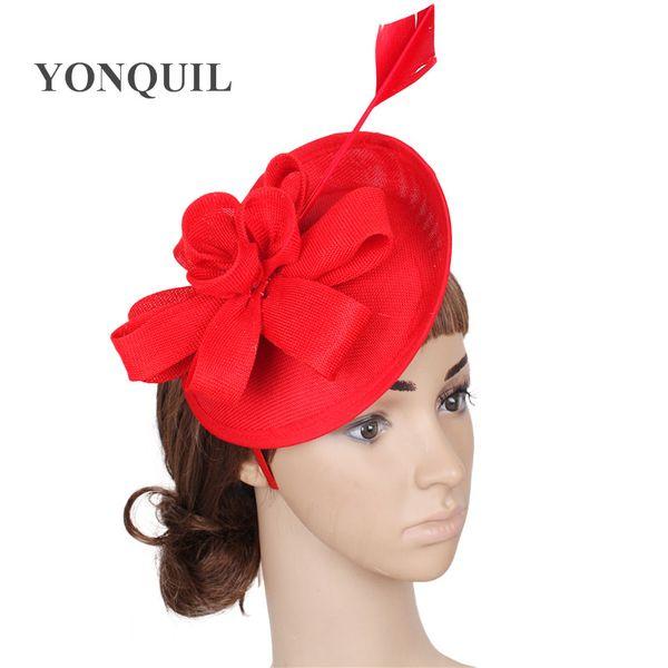 Hot Handmade Lady Girl Hair Accessory Clip Headband Bowknot Fascinators Party