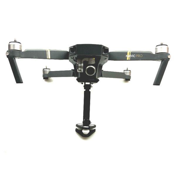 For Gopro Hero 5 4 3 Action Camera 360 degree VR camera mount bracket holder Tripod support 1/4 Base For RC DJI Mavic Pro