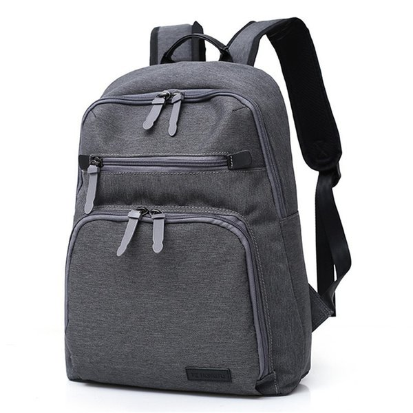 Zipper Decor Cool Backpack Novelty Vacation Rucksack Cool Laptop Backpacks Teenager Leisure Travel backpack Anti-thief Sportbag