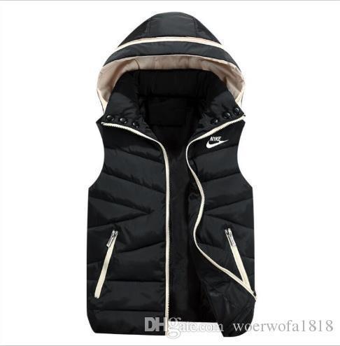 Toptan Satış - NK Marka Yelek Erkekler Yeni Şık Sonbahar Kış Sıcak Kolsuz Ceket Ordu Yelek Men039; s Yelek Moda Casual Coats Erkek Windp