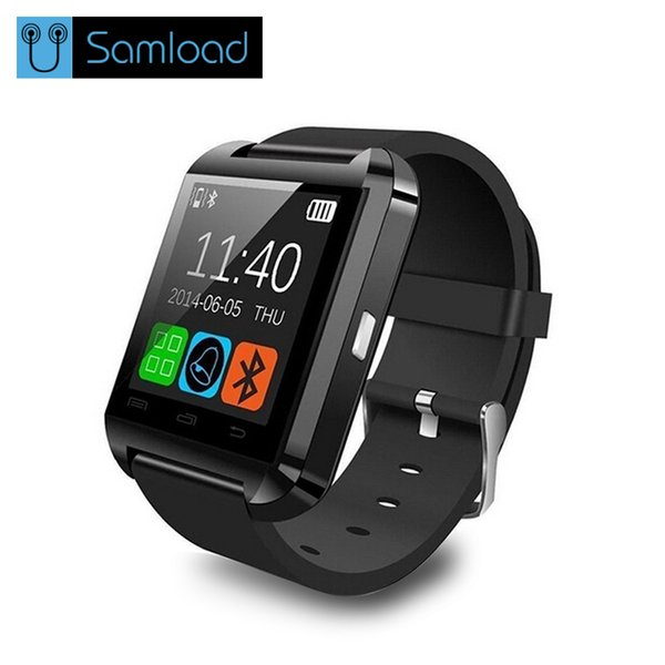 Samload Smart Watch Clock Sync Notifier Support Bluetooth Connectivity For Android Phone Smartwatch PK GT08 DZ09 GV18 U8