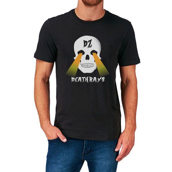 Dz Deathrays camiseta Dance Punk Heavy Metal Hard Rock Music Australia descuento 100% algodón camiseta para hombre delgado