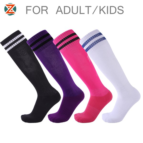 Men Women Kids Professional Sports Soccer Socks Breathable Knee High Sock for Children Adult Basketball Running Football Socks