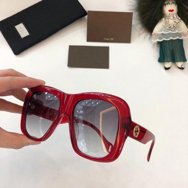 fe7658605a9a Großhandel Designer Sonnenbrillen GG0498 Luxus GUbrand Designer  Sonnenbrillen Für Herren 2019 Catwalk Stil Sonnenbrillen Großer Rahmen Mode  Gafas ...