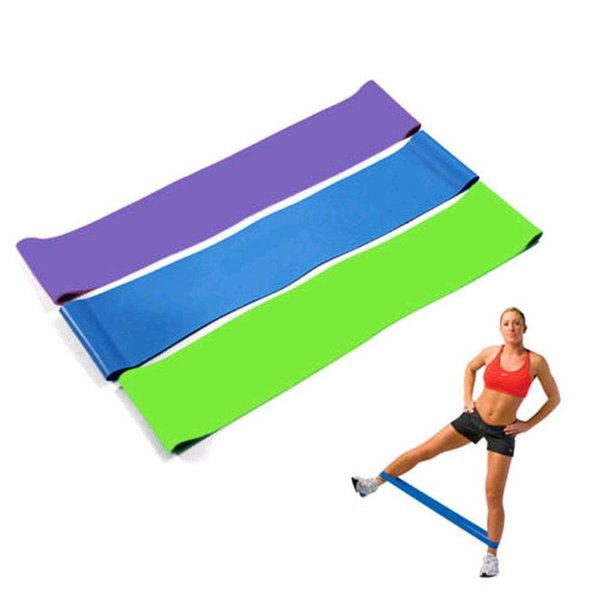 best selling Resistance Bands 6 Levels Exercises Elastic Fitness Training Yoga Loop Band Workout Pull Rope With Strength Test Video