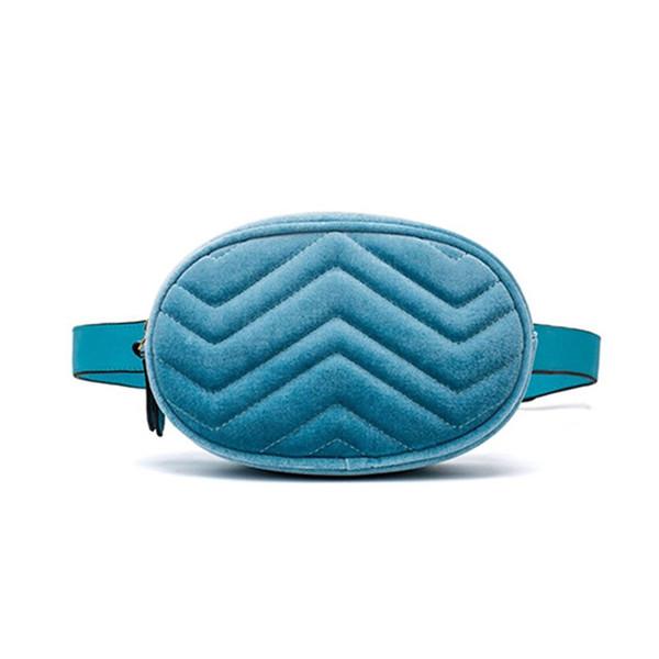 2018 neue Ankunft Mode Taille Tasche Solide Frauen Taille Packs Gürteltasche Hohe Qualität Samt Brust Taschen