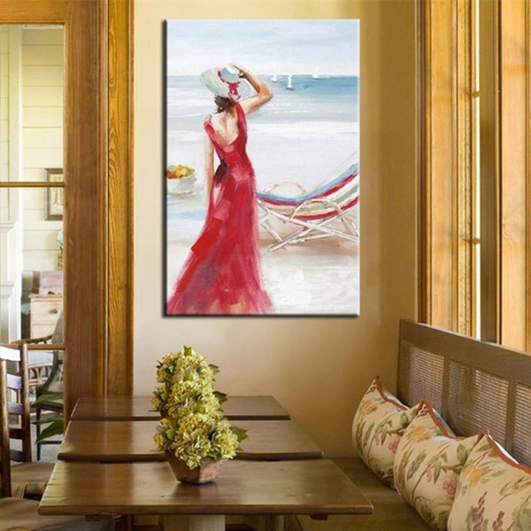 Beautiful Women Oil Painting Canvas Coupons Promo Codes Deals